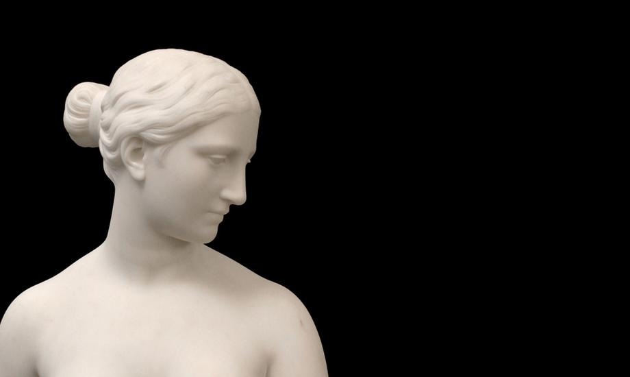 Hiram Powers (American, 1805-1873) BUST OF THE GRE...