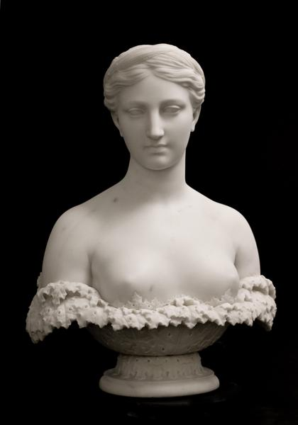 PROSERPINE, 1848–49 Marble on original socle...