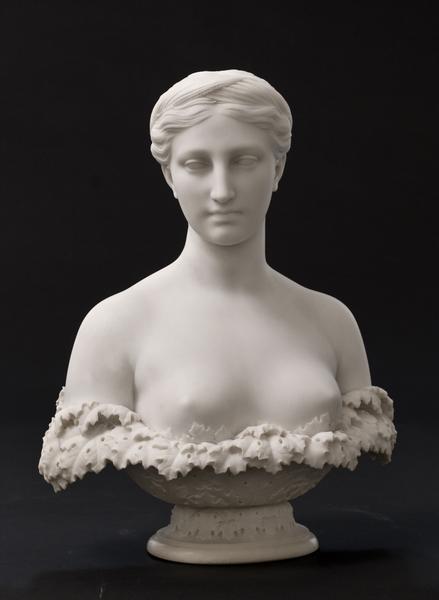PROSERPINE, 1848–49 Marble 20 1/2 x 16 1/2 x...