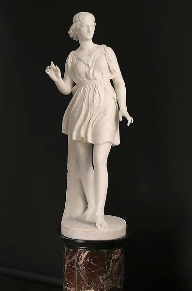 ATALANTA, Modeled c. 1871-74; carved 1874 Marble o...