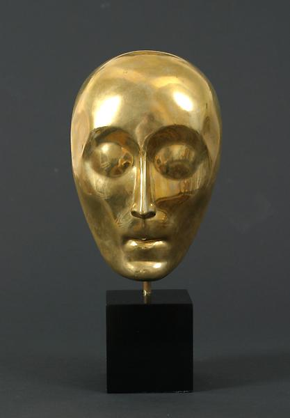 MASK, 1923 Burnished bronze 9 1/4 x 6 x 3 inches S...