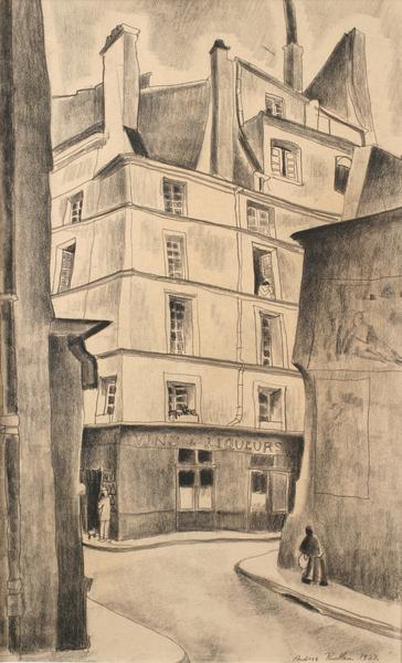 VIEUX PARIS (also VINS ET LIQUEURS), 1927 Carbon p...