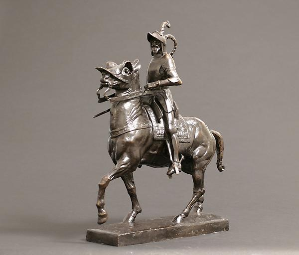 FRANCISCO PIZARRO, c. 1914 Bronze 20 5/6 x 17 1/8...