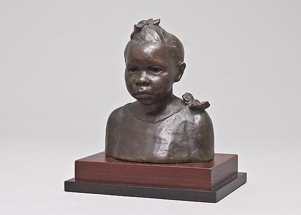 HARLEM GIRL (LENORE), 1935 Plaster painted bronze...
