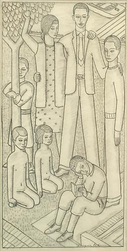 FAMILY PORTRAIT, c. 1929