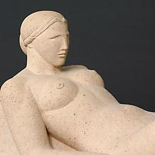 DIANA (also RECLINING NUDE), modeled 1927; this ve