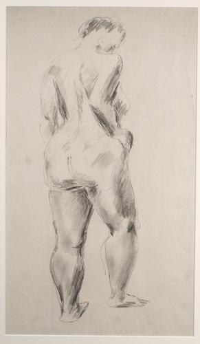 STANDING NUDE, REAR