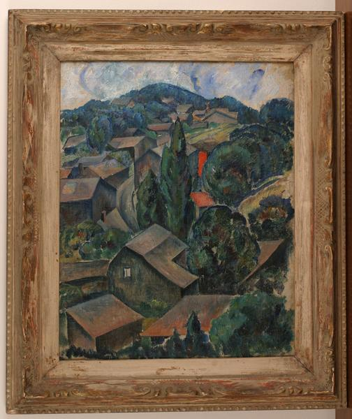 WOODSTOCK, 1924 Oil on canvas 20 x 16 inches Signe...