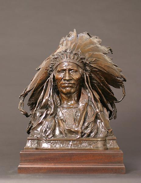 CHIEF BLACKBIRD, OGALALLA [Oglala] SIOUX, 1903 Bro...