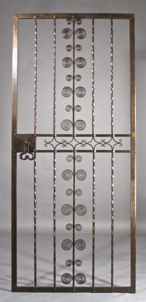 DOOR FOR J. WALTER THOMPSON, NY, c. 1927 Wrought I...