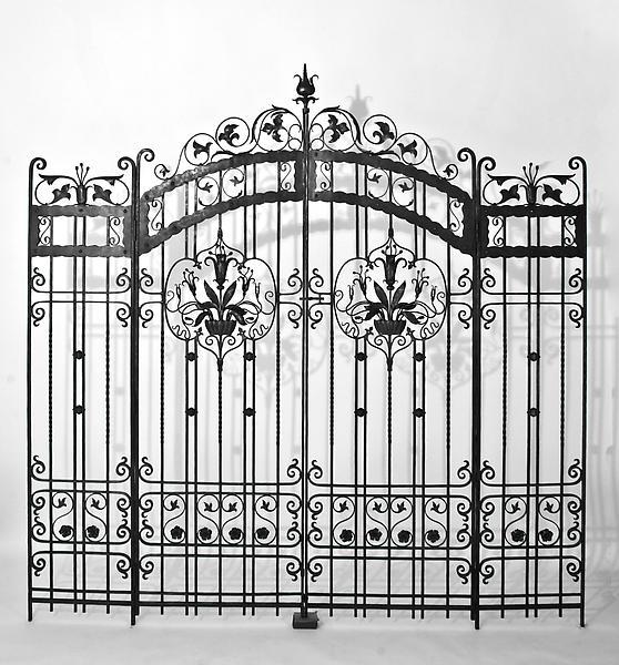 PAIR OF GATES, WYNNEFIELD HEIGHTS, PHILADELPHIA, c...