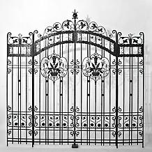 PAIR OF GATES, WYNNEFIELD HEIGHTS, PHILADELPHIA, c